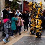 Bumblebee Lumynight marché de Noêl de Carcassonne