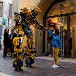 Bumblebee Carcassonne au marché de Noêl de Carcassonne