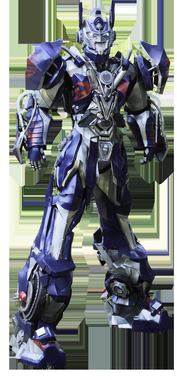 Présentation du robot géant BLUE TRUCK