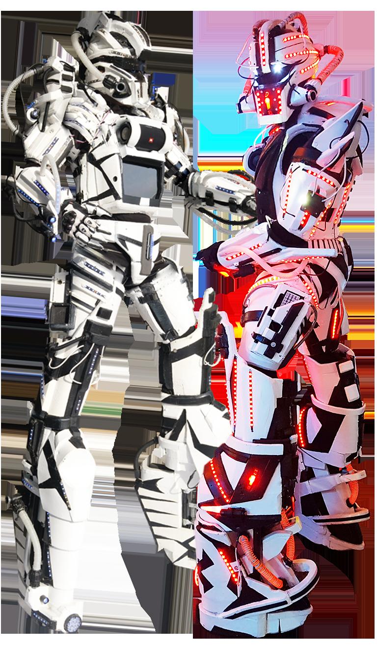 Présentation des robots géants Cyborgs
