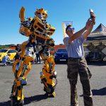 Selfie avec Robot Lumynight
